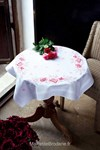 Nappe roses roses