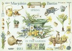 SPRING IN THE GARDEN LARGE sur toile Etamine 10.5 fils