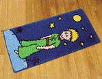 Tapis point noué Le petit prince