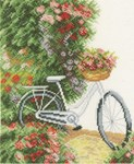 My bicycle sur toile aida